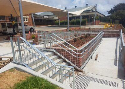 St Paul's Catholic School – Handrail balustrade, Albion park